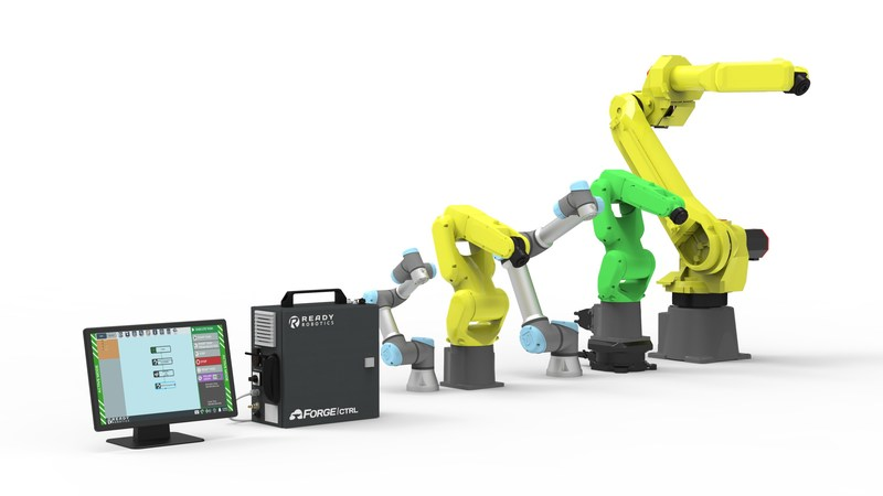The Forge suite of products utilizes one user interface across multiple robotic brands creating a programming experience so far beyond easy it feels intuitive with no previous robotic experience required.