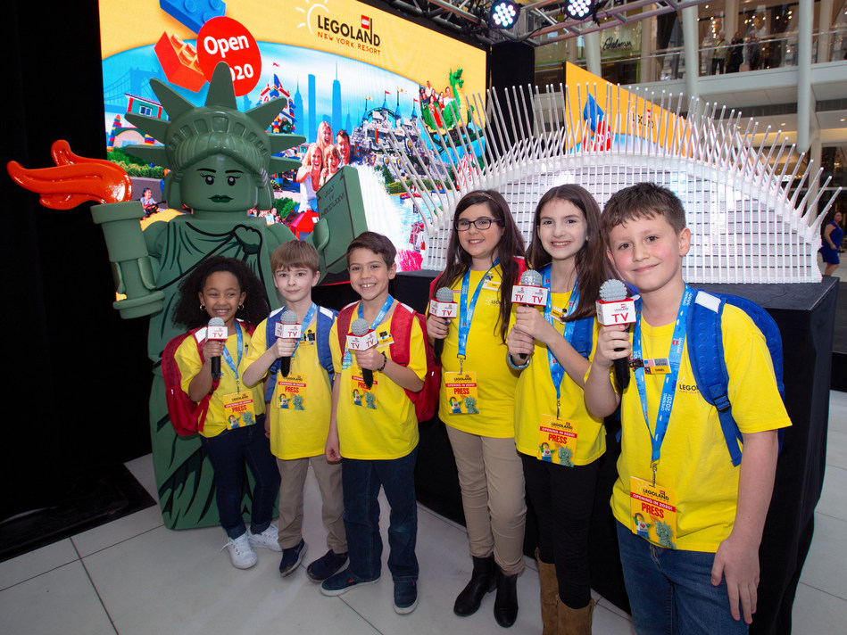 LEGOLAND New York Resort's Kid News Team announces launch of the limited edition First to Play pass.