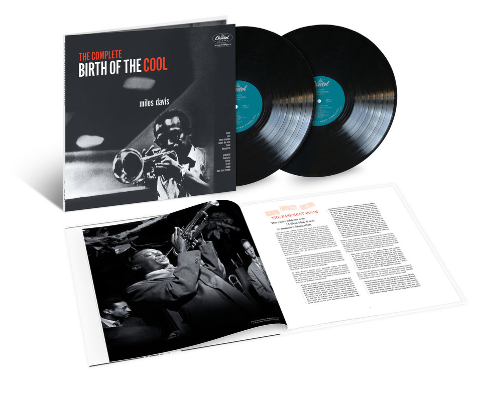 To be released May 17 by Blue Note/UMe, 'The Complete Birth of the Cool' chronicles the brief yet monumental importance of the Miles Davis Nonet. Honoring the 70th anniversary of the initial 'Birth of the Cool' sessions, 'The Complete Birth of the Cool' presents together all the music created by this collective. Available now for pre-order in 2LP vinyl and digital formats, the collection includes the twelve sides they recorded in 1949/'50, as well as the ensemble's only extant live recordings.