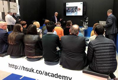 Haag-Streit Academy Optrafair CET session (PRNewsfoto/Haag-Streit UK)