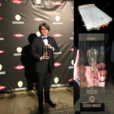 The World's First EV Solid-State Battery Pack Solution Won the Gold of the Edison Awards