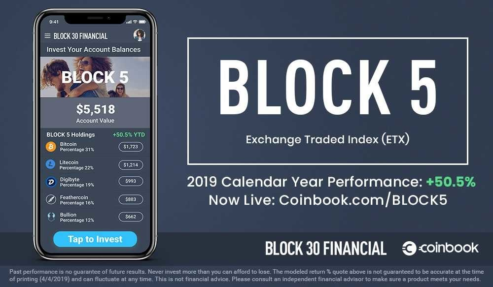 BLOCK 30 Financial launches new suite of multi-asset BLOCK Exchange Traded Index (ETX) products for global investors.