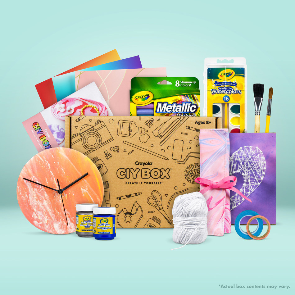 Creativity Delivered: Bulu, Inc. and Crayola® Launch Official Crayola® CIY Box™