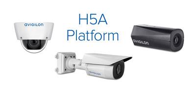New AI-powered camera line to feature Avigilon's most advanced video analytics technology. (CNW Group/Avigilon Corporation)