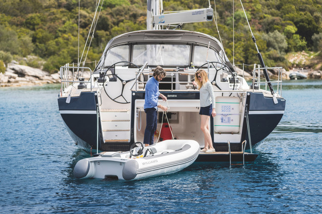 Bavaria C57, the most advanced boat of its class, a true blue water performance cruiser