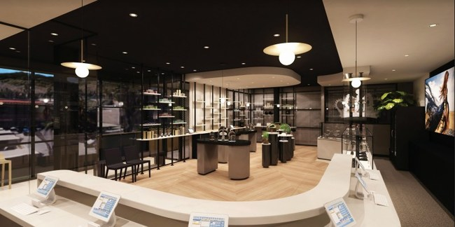 The stunning Royal Highness Cannabis Boutique in Palm Desert, CA