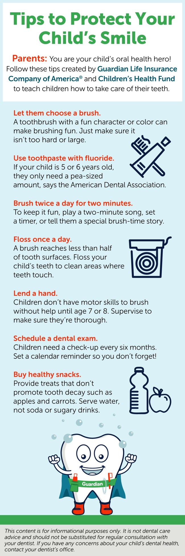 Oral Health Tips for Parents and Guardians
