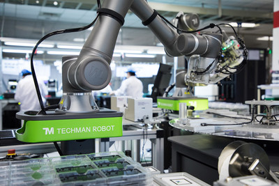 Techman Robot Unveiled at Chicago Automate 2019