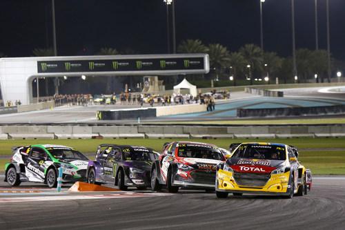 Kevin Hansen Takes Inaugural World RX of Abu Dhabi