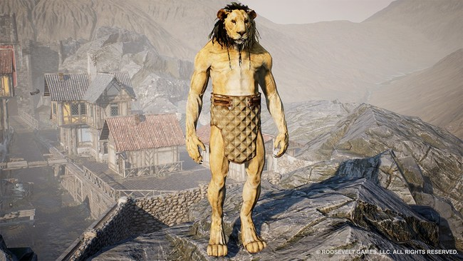 Lion Creature from GODS