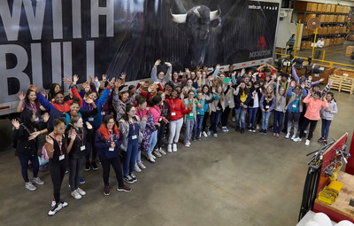 More than 70 Girl Scouts from Southeast Michigan explored possible STEM careers by touring labs and testing facilities at Meritor's Troy headquarters. The girls also conducted hands-on brake activities alongside Meritor technicians.