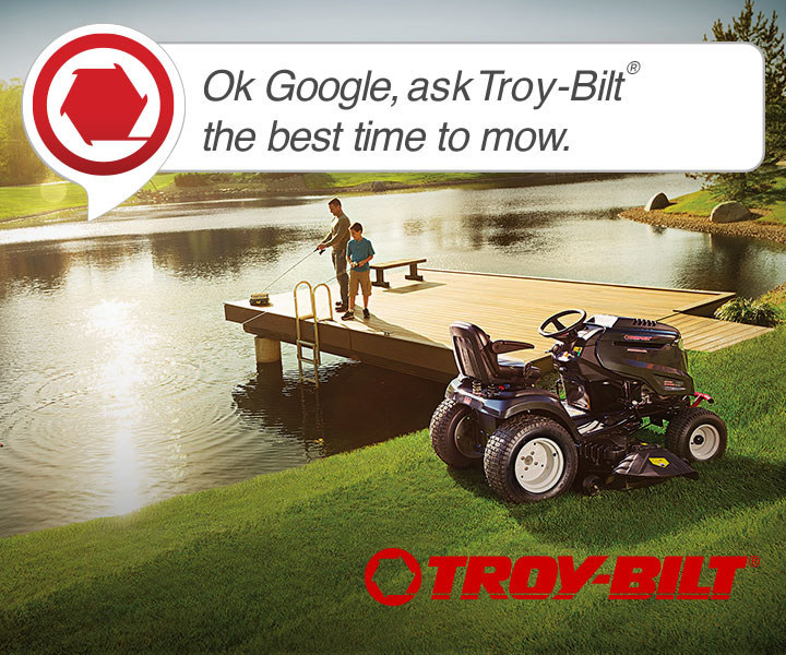 Troy-Bilt® Extends Voice Assistance Mowing Tool To Google Home