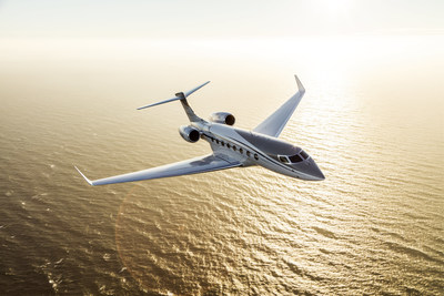 The Gulfstream G650ER, seen in this file photo, achieved a new speed and distance record flying from Singapore to Tucson.