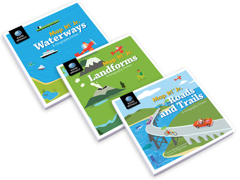 Rand McNally releases series of geography primer board books for children ages 2-4