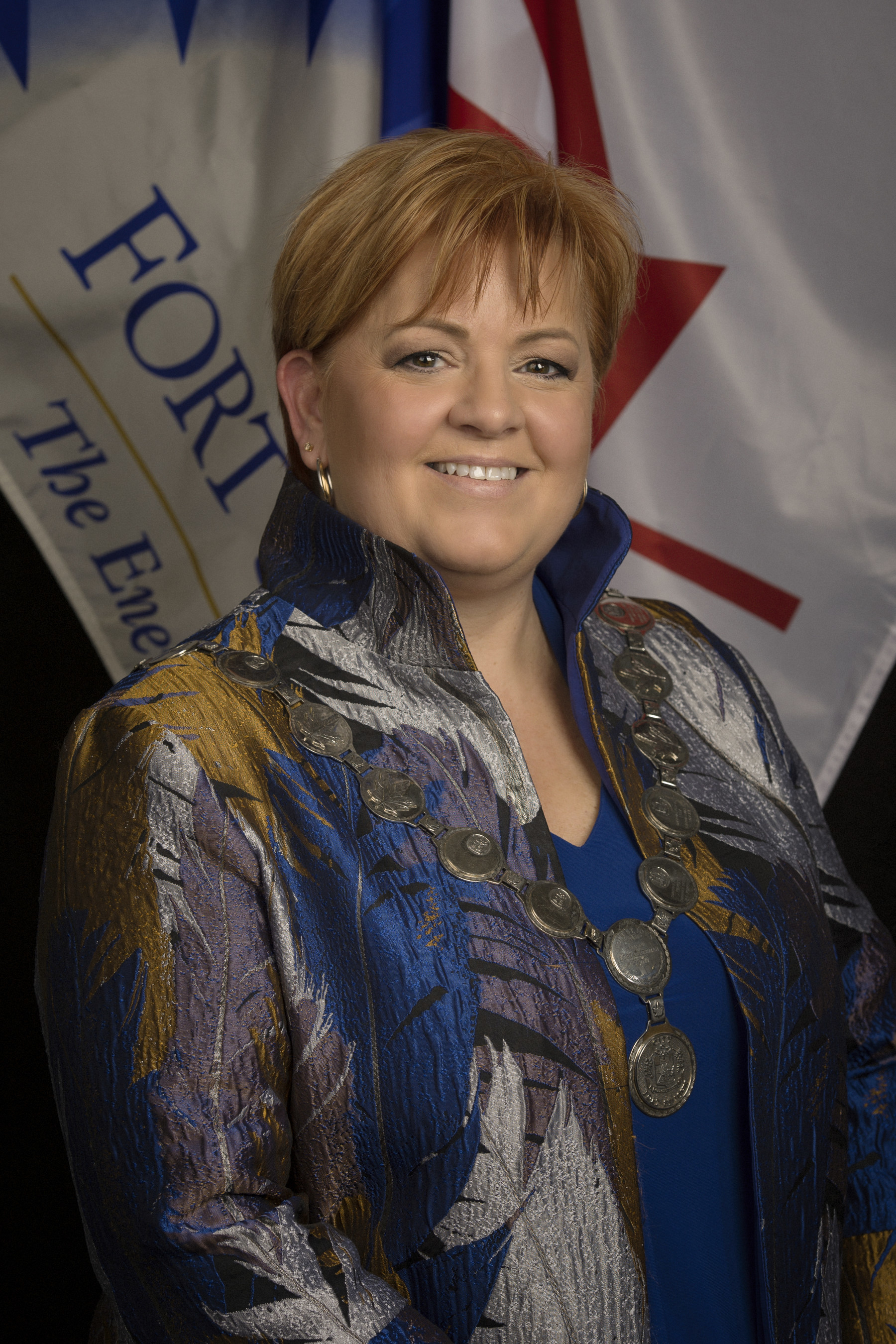 Mayor Lori Ackerman, Fort St. John B.C. (CNW Group/Energy Council of Canada)