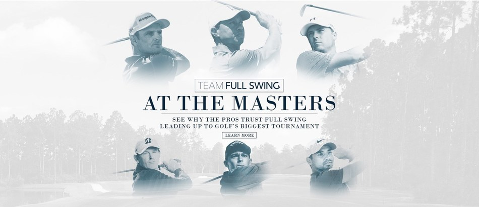 Full Swing Brings Largest Team Yet to The Masters, Announces Addition of Aaron Wise to Athlete Roster and Multi-Year Extension for Major Champion Jason Day