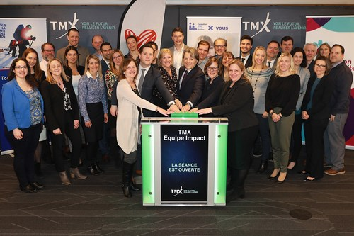 TMX Group's Charitable Giving Partners Open the Market (CNW Group/TMX Group Limited)