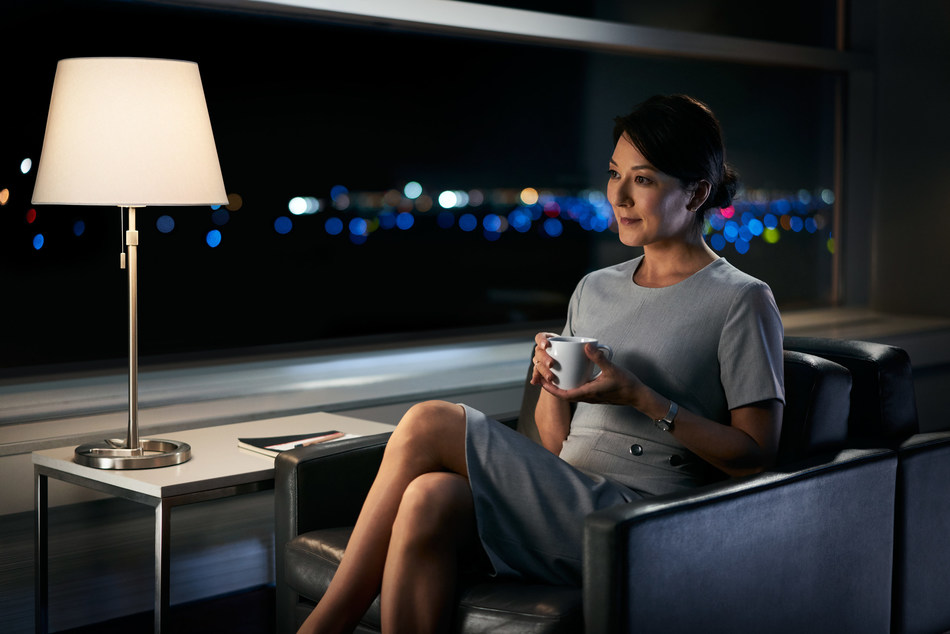 Air Canada today launched an expansive multi-media advertising campaign to showcase for customers the industry leading attributes and benefits of its award-winning, North America Business Class service. (CNW Group/Air Canada)
