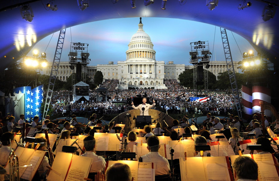 Two world-renowned television programs produced for PBS, the NATIONAL MEMORIAL DAY CONCERT and A CAPITOL FOURTH, both won Silver World Medals at this year's New York Festivals® International TV & Film Awards honoring the World's Best TV & Films℠. The concerts are broadcast live annually from the West Lawn of the U.S. Capitol.