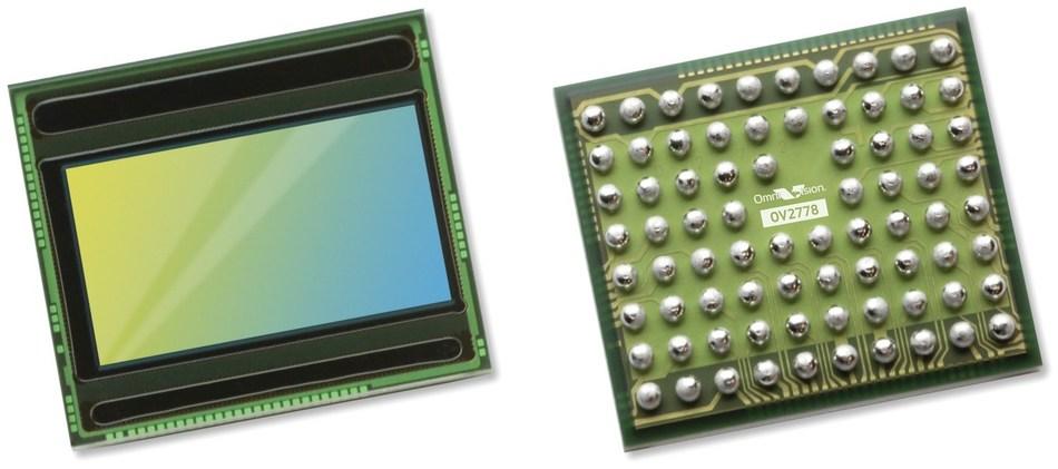 1/2.9-inch 2-megapixel RGB-IR image sensor built on OmniVision's 2.8 µm OmniBSI™-2 Deep Well™ pixel technology offers excellent low light and NIR light sensitivity