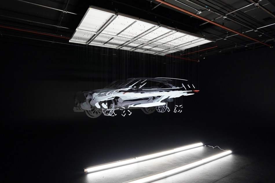 Augmented reality artist Michael Murphy has created a 3D illusion of the fourth-generation 2020 Highlander.