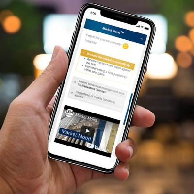 Market Mood tool displayed on smartphone