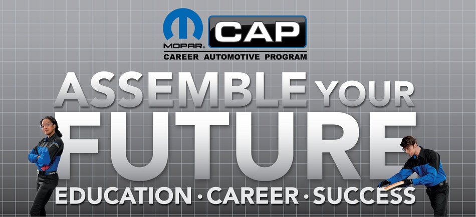 "Starting with this weekend's Mopar Express Lane NHRA SpringNationals in Houston, the ""Assemble Your Future"" initiative will bring Mopar CAP students to four NHRA events in 2019 to network with dealer representatives, identify potential career opportunities and meet Mopar and Dodge//SRT NHRA racers as a reward for their participation in the program."