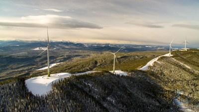 Moose Lake wind farm (CNW Group/Boralex Inc.)
