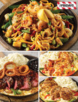 TGI Fridays™ Brings Back the Sizzle - Hotter and Better Than Ever With Whiskey-Glazed Steak, Chicken & Shrimp Alfredo, Street Noodles & More