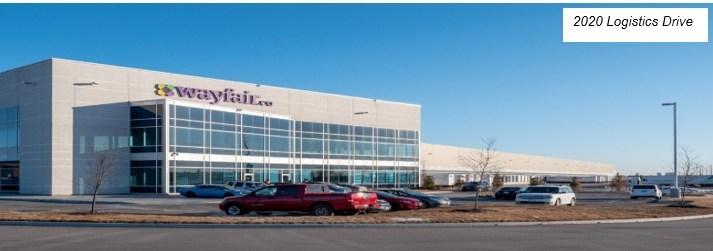 2020 Logistics Drive (CNW Group/Granite Real Estate Investment Trust)