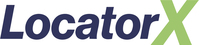 LocatorX Logo (PRNewsfoto/LocatorX)