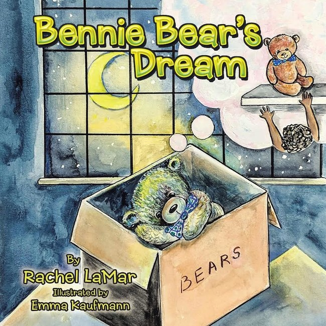 """Bennie Bear's Dream"" book cover"