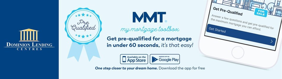 Get pre-qualified in less than 60 seconds with My Mortgage Toolbox (CNW Group/Dominion Lending Centres)