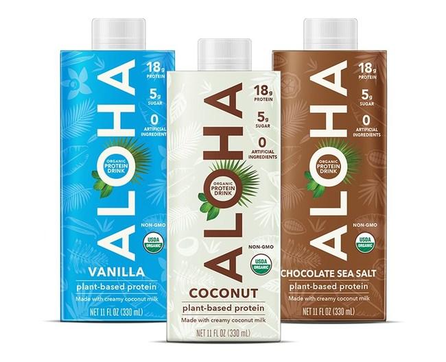 ALOHA protein drinks