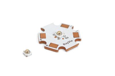 RayVio的XR 308 nm中波紫外线LED是改善银屑病和白癜风治疗方案的关键。