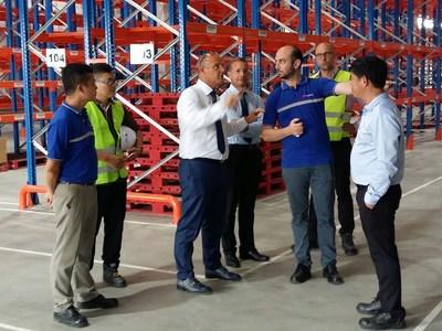 FM物流在越南投资3000万美元的配送中心破土动工