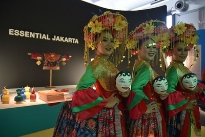 Betawi's traditional dance at the Milan Design Week 2019