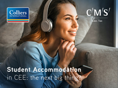 New Colliers International and CMS report shows severe shortfall in CEE student housing.
