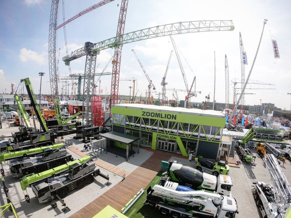 Zoomlion Heavy Industry Science & Technology at bauma Munich 2019.