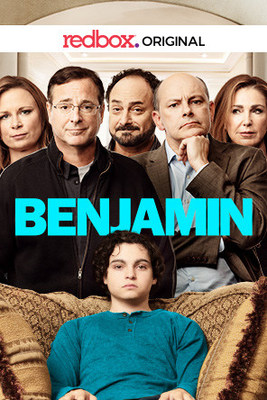 """Bob Saget directed and stars in """"Benjamin"""" with Rob Corddry, available to rent at more than 41,500 Redbox kiosks and Redbox On Demand starting April 23."""
