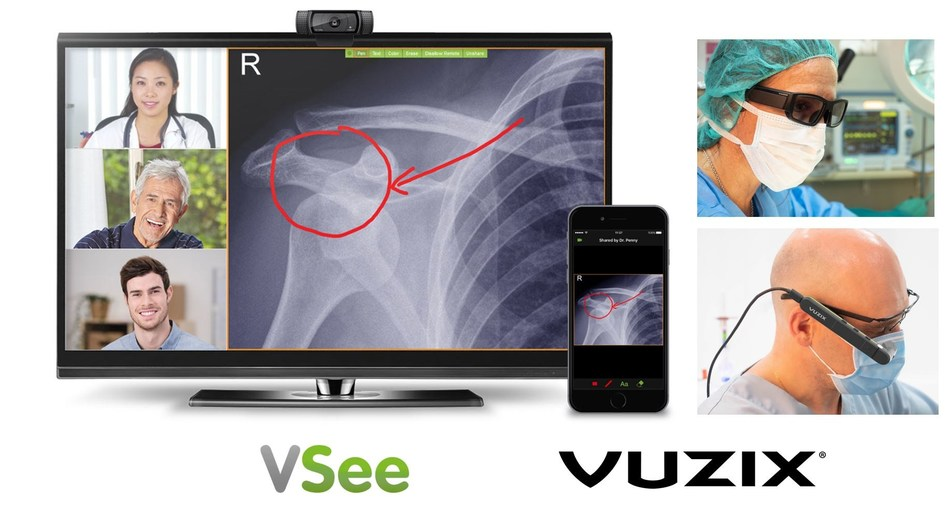 Vuzix and VSee