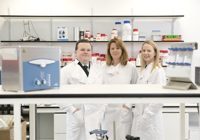 Avectas cofounder and chief Executive Dr Michael Maguire, with cofounder Dr Shirley O'Dea, Chief Scientific Officer and business development Director Dr Gillian Hendy.
