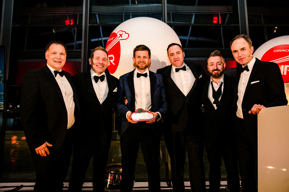 Data Intensity wins Oracle UK & Ireland Autonomous Partner of the Year 2019