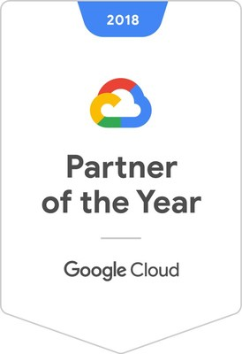 Onix named 2018 Google Cloud North American Reseller Partner of the Year.