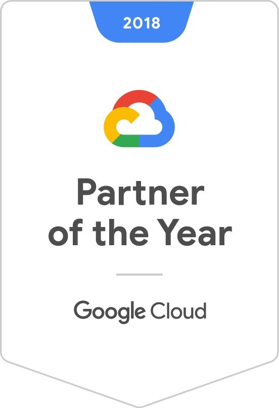 Onix named 2018 Google Cloud North American Reseller Partner of the Year