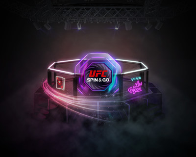 The UFC-branded Spin & Go is now live on PokerStars (PRNewsfoto/PokerStars)