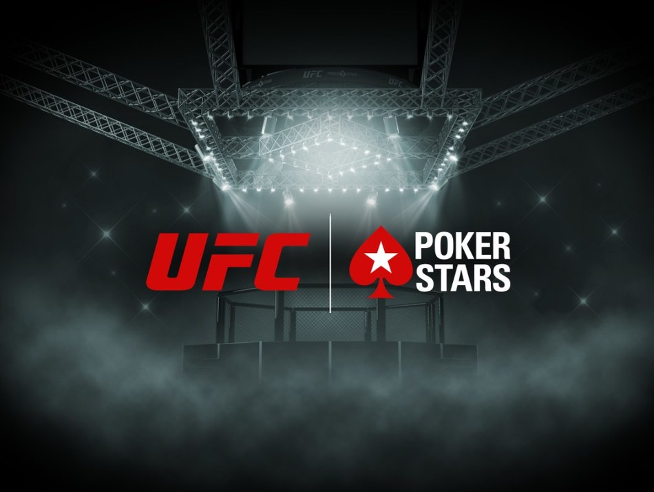 The exclusive global partnership will give fans the chance to get involved in UFC-themed PokerStars promotions and products featuring cash prizes and exclusive UFC experiences (PRNewsfoto/PokerStars)