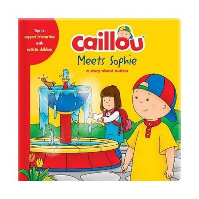 Caillou Meets Sophie - a story about autism (CNW Group/Fondation Jasmin Roy)