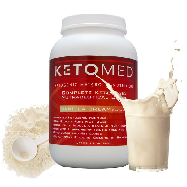 This unique scientifically formulated high fat, extremely low carb ketogenic formula delivers ~75% of its calories from high-quality medium chain triglycerides (MCT), ~15% hormone/antibiotic free clean protein and less than ~2% total carbs with zero sugar. Plus 24 vitamin and mineral nutrients that are typically lacking on a strict ketogenic diet.