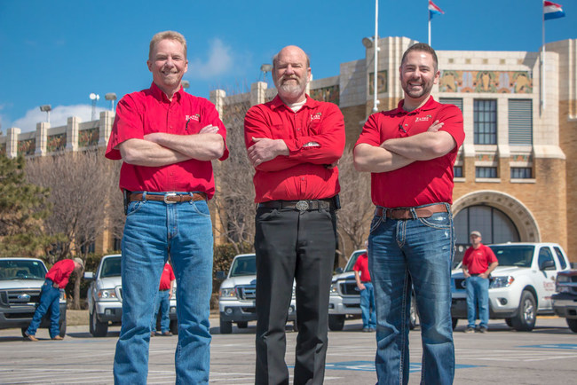 Emtec Pest Control been in business for over 40 years. The guys in the RED shirts since 1979
